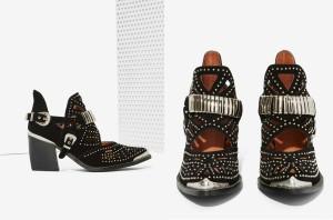 L'objet du délit : les Calhoun Ankle Boots de Jeffrey Campbell (204,77€ tout de même)