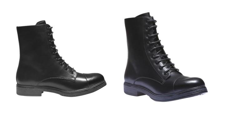 Boots montantes à lacets de Bata à 59,99 euros