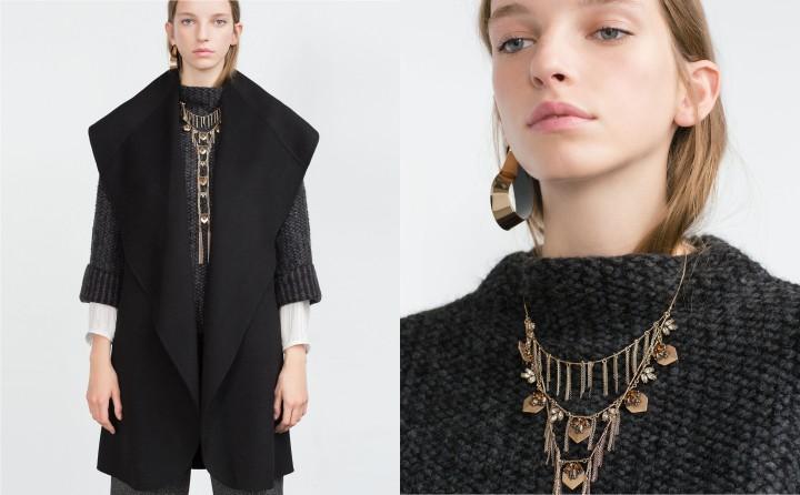Collier Zara à 5,99 euros